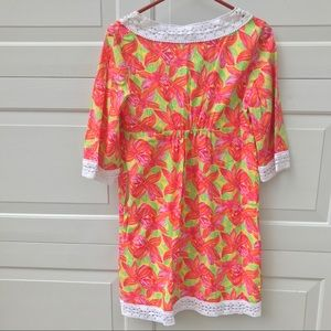 Lilly Pulitzer Dresses - LILLY Pulitzer Dress 4 caftan lined tunic top